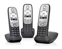 L36852H2505S311 Радиотелефон DECT Gigaset A415 TRIO Black, L36852H2505S311