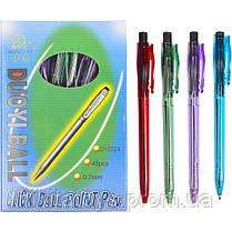 Ручка шариковая 202 Duoyi синяя