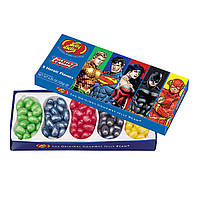 Желейно-мармеладные бобы Jelly Belly Justice league подарочная коробка, 120г
