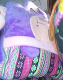 Детский плед сумочка 2-в-1 (100*190 см), фото 8