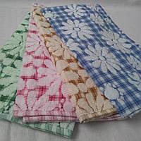 """Кухонное махровое полотенце+лен """"Марочка"""". Полотенца. Кухонные полотенца"""