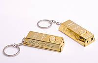 """Брелок для ключей """"Слиток золота"""", 4 в 1: брелок, лазер, фонарик, подставка для телефона"""