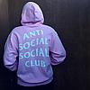 ASSC розовая толстовка | Фото бирки | Женская худи Anti Social Social Club pink, фото 4