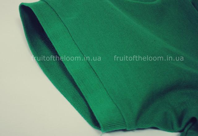 Ярко-зелёное мужское поло 65/35