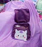 Детский плед сумочка 2-в-1 (100*190 см), фото 2