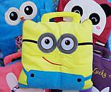 Детский плед сумочка 2-в-1 (100*190 см), фото 4
