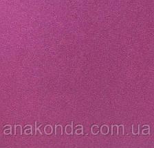 91-4 Сумка женская натуральная кожа, черный глянец с изнанкой цвета фуксии , фото 3