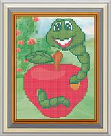 Схема для вишивки бісером Смачненьке яблуко. Арт. СД-126 e5f414fb197d7