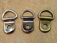 Петля взуттєва під заклепку, штампування, нікель (1000 шт)