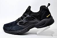 Мужские кроссовки в стиле Reebok Insta Fury, Black\Чёрные