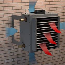Тепловые завесы и тепловентиляторы