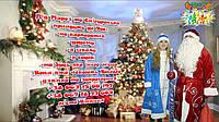 Дед Мороз и Снегурочка на дом, по вызову, на корпоратив, в школу, в садик или любое другое место...