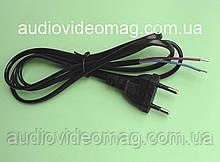 Шнур медный, монтажный, с лужеными выводами, 220V 2 х 0.5 мм.кв, длина 1.5 метра