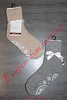 Теплые женские махровые носки