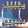 Коллектор WATTS HKV2013A для теплых полов с расходомерами на 7 контуров