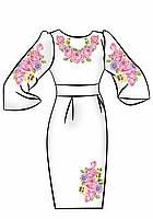 Заготовка для вышивки платья ПЖ-10