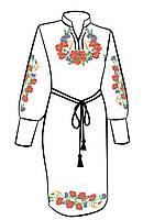 Заготовка для вышивки платья ПЖ-8
