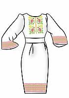 Заготовка для вышивки платья ПЖ-14
