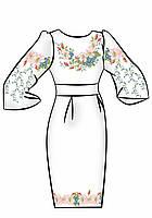 Заготовка для вышивки платья ПЖ-17