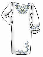 Заготовка для вышивки платья ПЖ-25