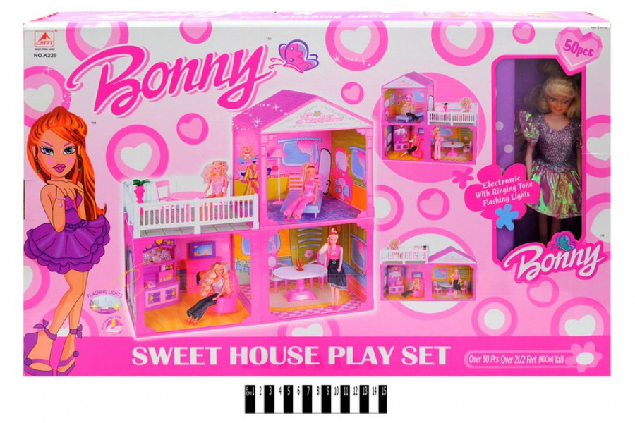 Купить кукольные домики в интернет магазине WildBerries.by | 600x900