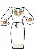 Заготовка для вышивки платья ПЖ-28