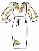 Заготовка для вышивки платья ПЖ-34