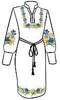 Заготовка для вышивки платья ПЖ-36