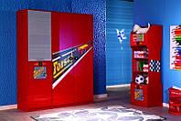 Шкаф гардероб 3-дверний Форсаж