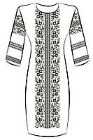 Заготовка для вышивки платья ПЖ-50