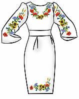 Заготовка для вышивки платья ПЖ-62
