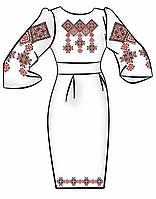 Заготовка для вышивки платья ПЖ-70