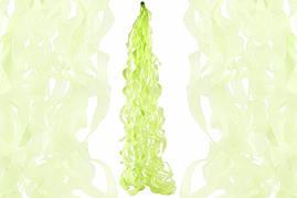 """Спираль тассел """"Салатовая"""", 80 см."""