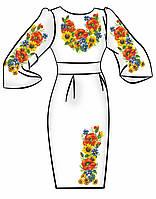 Заготовка для вышивки платья ПЖ-80
