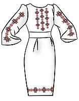 Заготовка для вышивки платья ПЖ-87