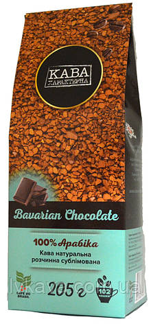 Кофе растворимый Баварский шоколад  Кава Характерна , 205  гр, фото 2