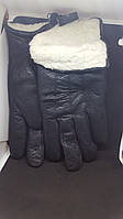Мужские перчатки из натуральной кожи оленя Fioreyto