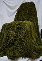 Очень пушистое покрывало с длинным ворсом   Турция  Альпийский луг