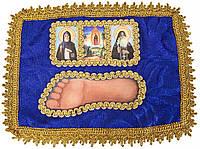 Стопа Божией Матери Почаевская (со святыми) #2