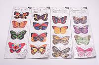 """Наклейки декоративные """"Бабочки"""", в ассортименте"""