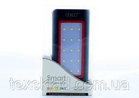 Power Bank Зовнішній акумулятор UKC 36 000 mAh (сонячна зарядка/ліхтар)
