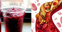 Сок для очистки и разблокировки артерий, снижения артериального давления и нормализации холестерина!