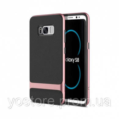 TPU+PC чехол Rock Royce Series для Samsung G955 Galaxy S8 Plus (18806)