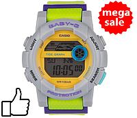 Детские спортивные часы Casio Baby-G BGA-180 Lime