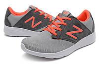 Мужские беговые кроссовки New Balance 1320 Grey-Orange (Нью Бэлэнс 1320 Серые с Оранжевым)