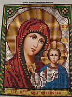 Набор для вышивки бисером икона Казанская Божия Матерь VIA 5001