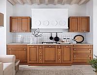 Кухонные фасады из натурального дерева BRW Della