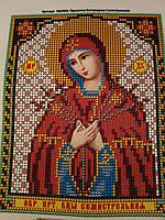 Набор для вышивки бисером икона Пресвятая Богородица Семистрельная VIA 5004