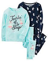 Комплект пижам с мышками Carter's для девочки