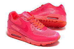 Женские кроссовки  Nike Air Max 90 Hyperfuse розовые